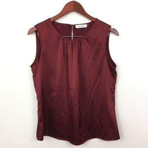 2/$20 Calvin Klein Sleeveless Blouse